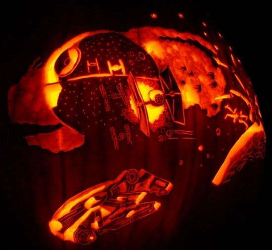 star wars pumpkin carving - Star Wars Halloween Pumpkin Carving Patterns