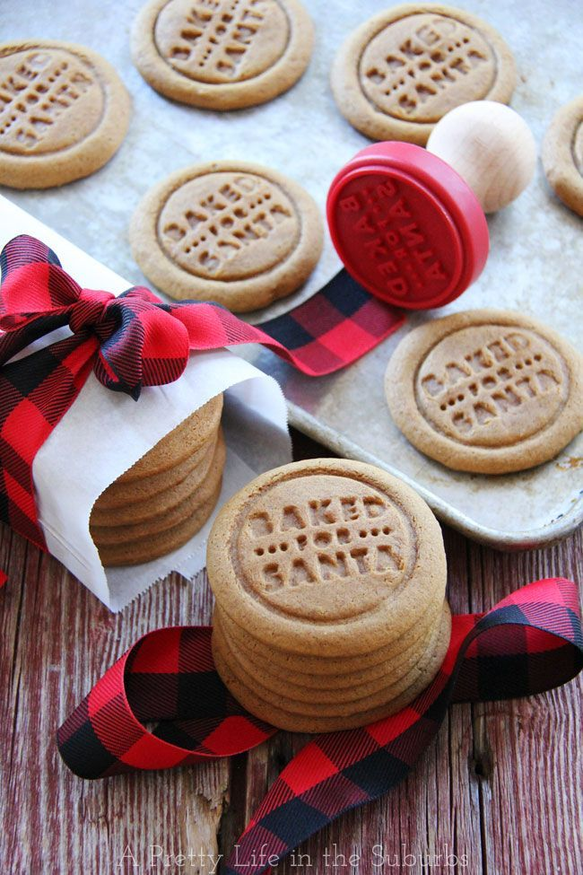 Ginger Spice Molasses Cookies {Holiday Eats} - A Pretty Life In The Suburbs