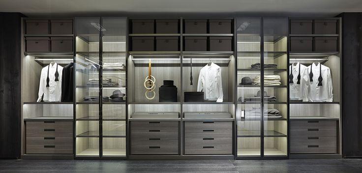 +Poliform 2014 wardrobe system+ #wardrobe #luxury