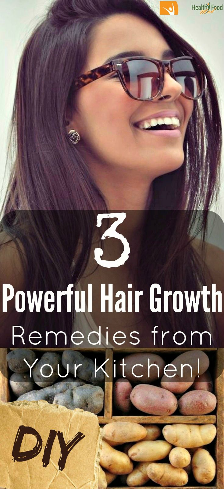 Powerful Hair Growth Remedies from Your Kitchen