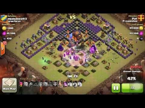 Clash Of Clans: GoVaWiWi 3 Stars Attack Strategy Against TH10