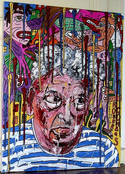 Portrait de Robert Combas