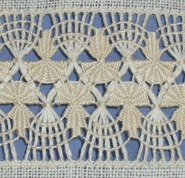 drawn thread sampler band 23 by Susan