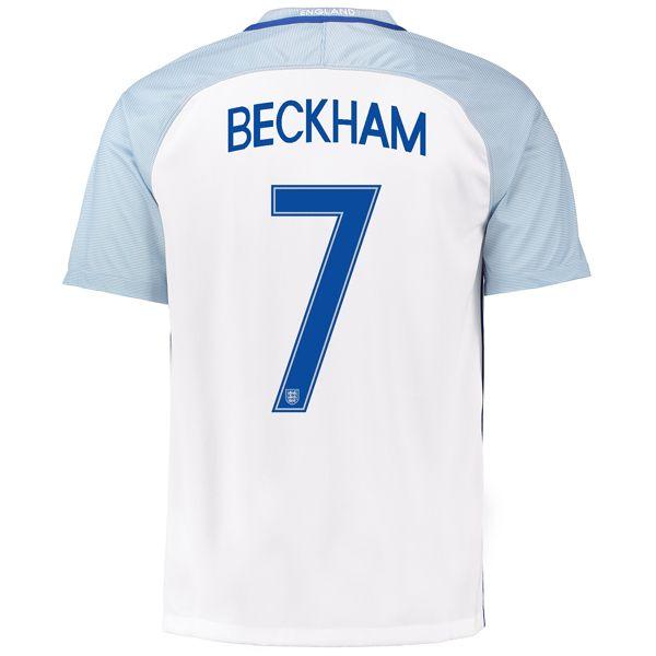 David Beckham 7 2018 Fifa World Cup England Home Soccer Jersey England Soccer Jersey Soccer Jersey Fifa World Cup