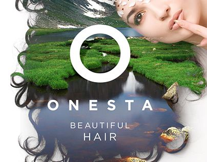 """Check out new work on my @Behance portfolio: """"Onesta Hair Care"""" http://on.be.net/1FeXvkF"""