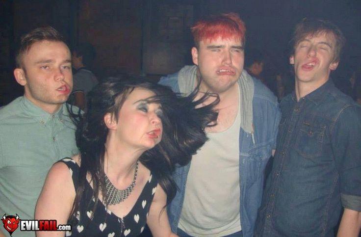 Party Photo FAIL