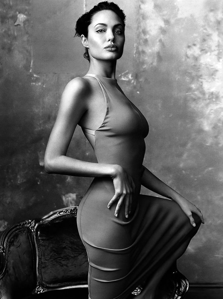 Angelina Jolie by Annie Leibovitz, 2002