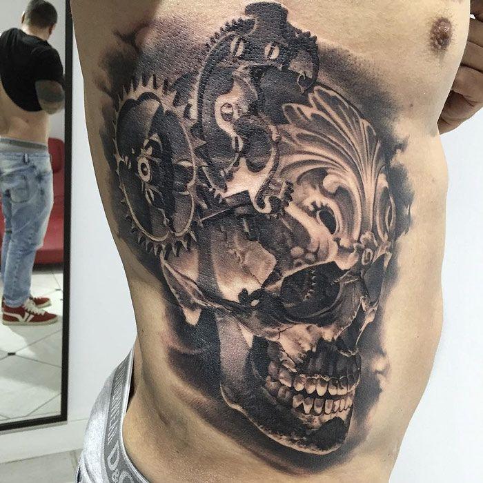 Top 25  best Skull hand tattoo ideas on Pinterest | Skull sleeve ...
