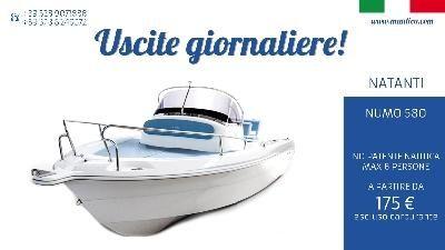 #Mautica #noleggia barca a #motore da 40 CV, non #necessita di #patente #nautica, #portata max 6 #persone ... #annunci #nautica #barche #ilnavigatore