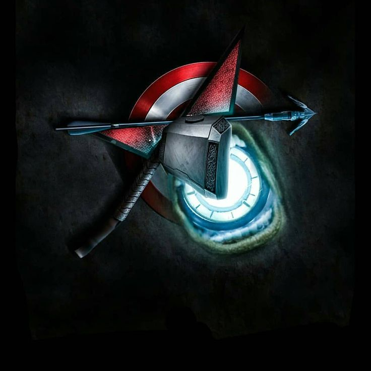 avengers symbols + that tattoo 5/6 original avengers have – angi baumstamm