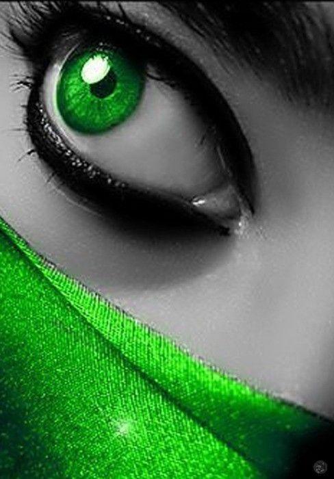 ~` green eye!! `~
