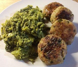 Polpette alla mortadella con broccoletti siciliani - DoctorWine