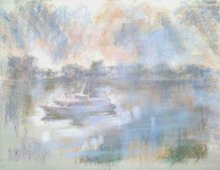 Bruncsák András's Blog - a pastel painting.
