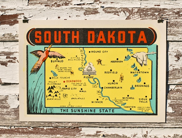 South Dakota capital Pierre 40th to join union on November 2, 1889 Mount Rushmore State