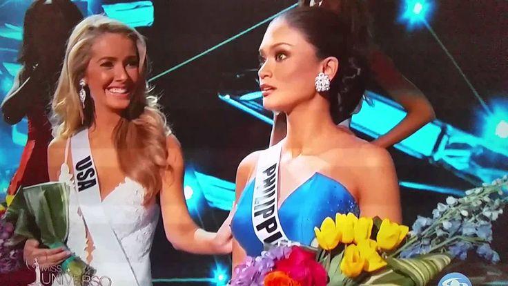 Error de coronación - Miss Universo 2015