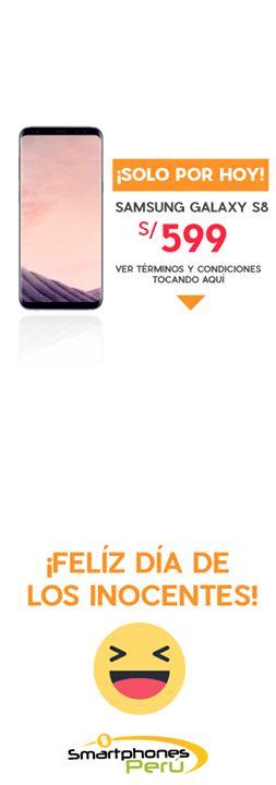 ⏰ SOLO POR HOY ⏰ Samsung Galaxy S8 a S/599   😲 😲 😲 😲 😲 😲 😲 😲 😲 😲 😲 😲 😲 😲 ¡Caíste! Esta publicación es parte de una Broma por el día de los inocentes, etiqueta a tus amigos para trolearlos 😂 #iphoneonly #apple #ios #Android