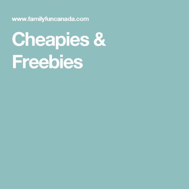 Cheapies & Freebies