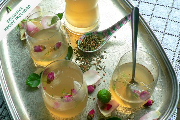 INCREDIBLE BOOZY ICED TEA Published by Jody Vassallo If you're looking for an impressive drink for a party, look no further than this gorgeous and totally from-scratch alcoholic iced tea recipe.