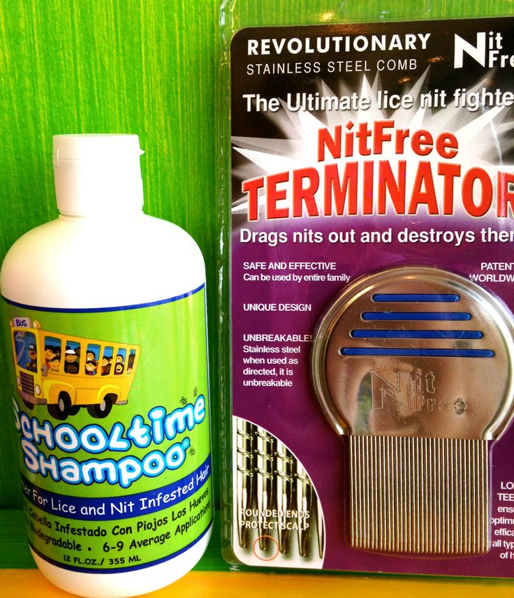 Best comb on the market and School time anti Lice Shampoo.  Get them both at Coastal Lice Center in Myrtle Beach  843-421-7011