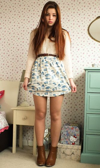 China Blue (by Amelia Breading) http://lookbook.nu/look/4695655-China-Blue