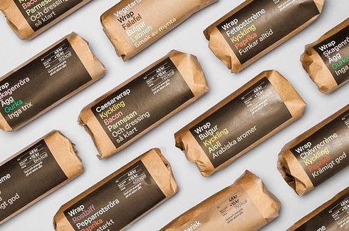 7-11's New Sandwich Packaging | The 25 Coolest Packaging Designs Of 2013... GOOD JOB, 7-11! Breaking out of that ugly, cheap branding you usually have ;)