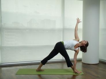Need to get better at - Revolved Triangle Pose: Parivrtta Trikonasana