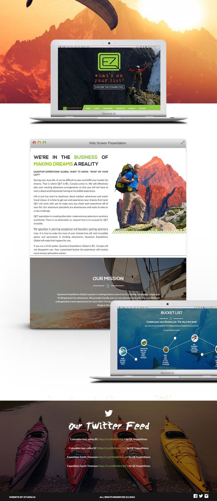 Adventure travel company website. Visit http://vrinmkansal.com to get your own website