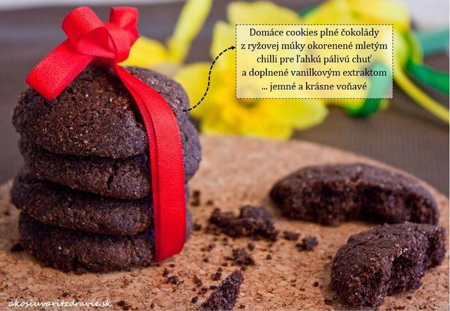 Čokoládové cookies – naozaj plné čokolády (bez pšenice a lepku)