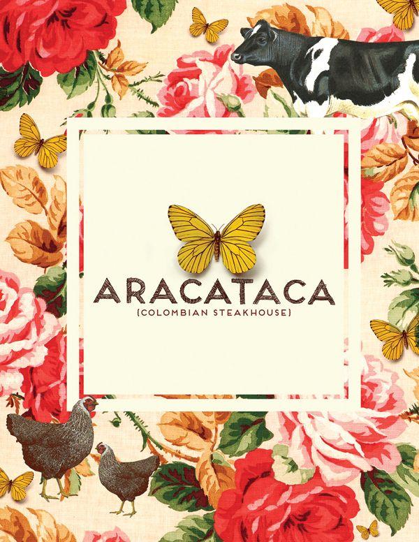 diseño de marca aracataca restaurante Bogotá Colombia