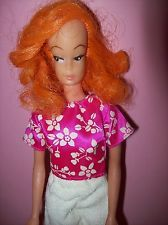 Barbie Clone,Vintage,60er Jahre,Markier.Made in Hong Kong,Spielzeug,Puppe, Doll