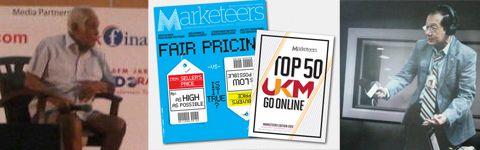 Pesanlogo.net di Majalah dan Radio Marketeers