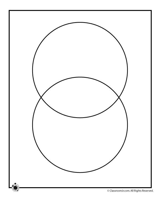 2 Circle Venn Diagram Template | Woo! Jr. Kids Activities ...