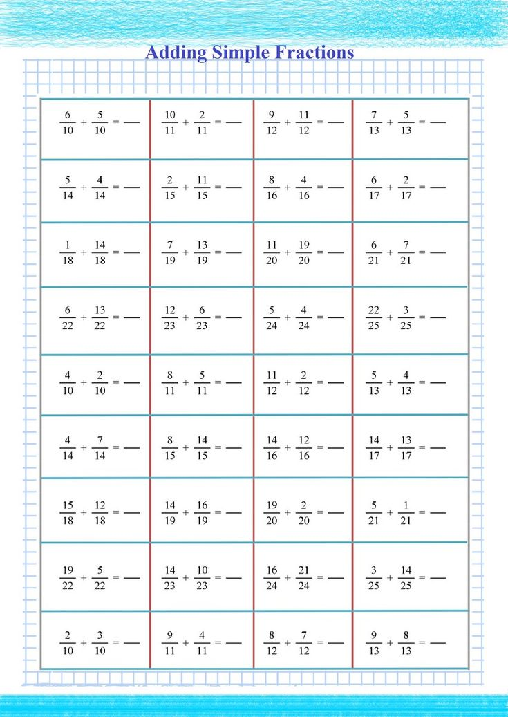 Adding Fractions Practice Free math worksheets, Math