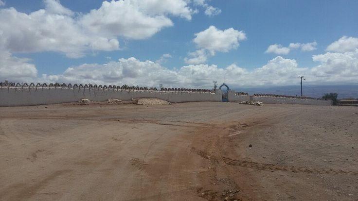 Cementerio de San Pedro de Atacama, II región de Chile