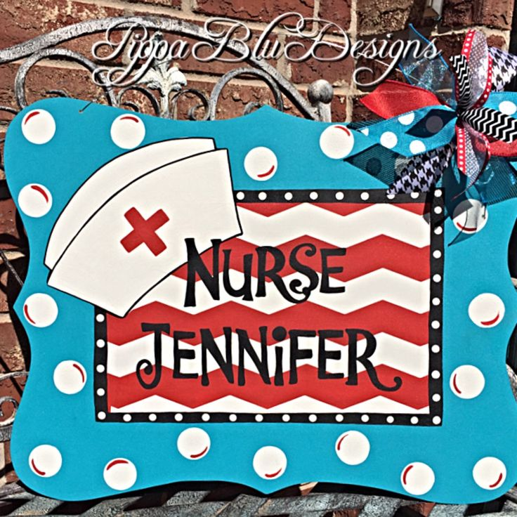 Top 25+ Best Nurse Wreath Ideas On Pinterest | Nurse Decor, Funny