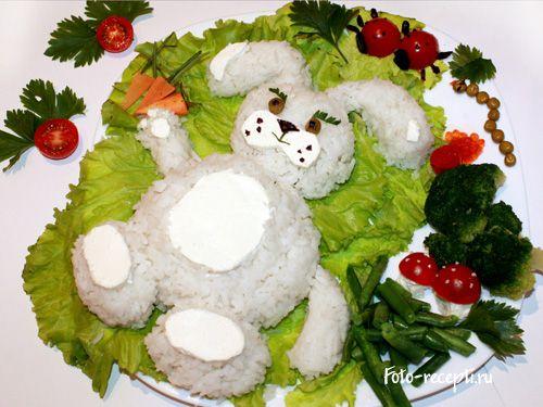 Рецепт салатов с фото для детского праздника