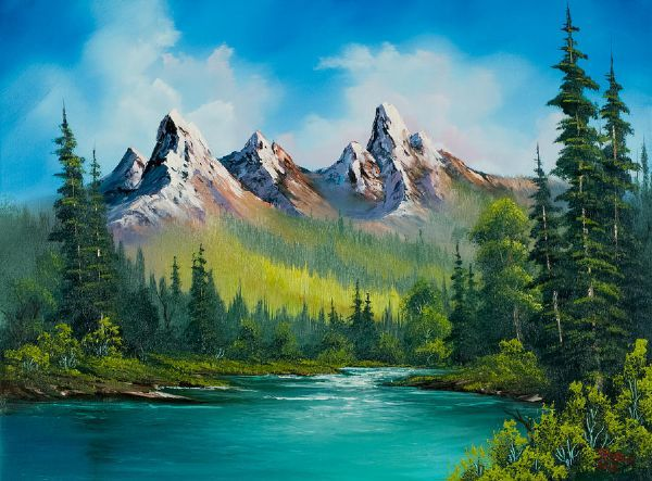 17 best images about paintings bob ross on pinterest for Paintings for sale online