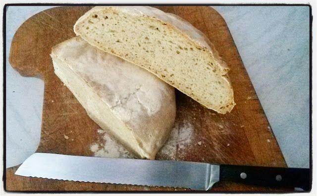 Pagnotta di grano duro con preimpasto #pastamadre