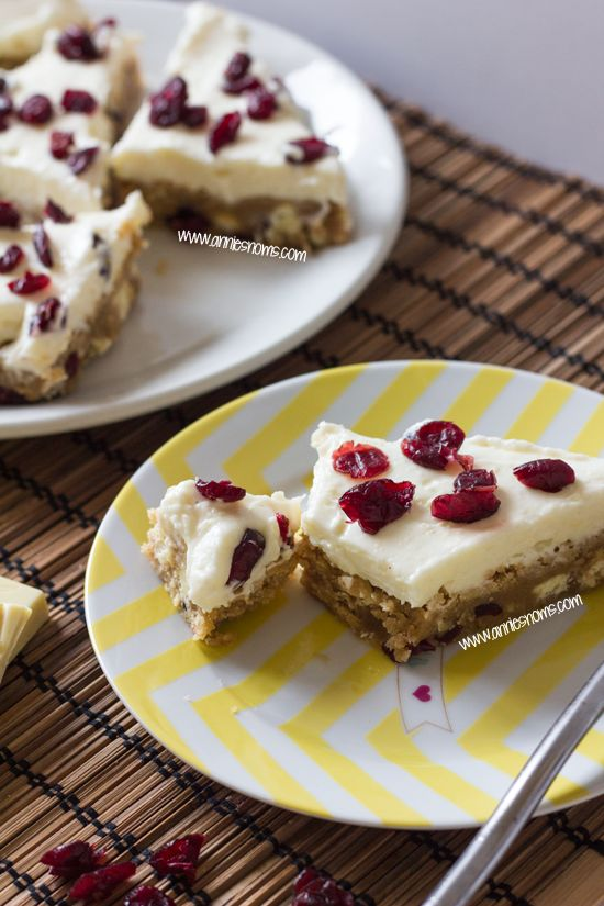 Cranberry Bliss Bars