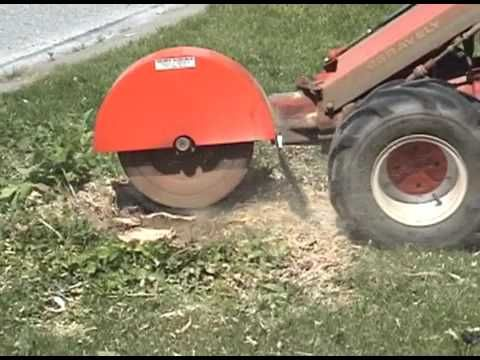 Gravely stump grinder
