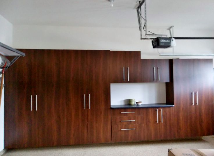 Gorgeous Cabinets With Sleek Hardware Artfully Hide Garage Clutter From  View. Project Completed By Susquehanna Part 55