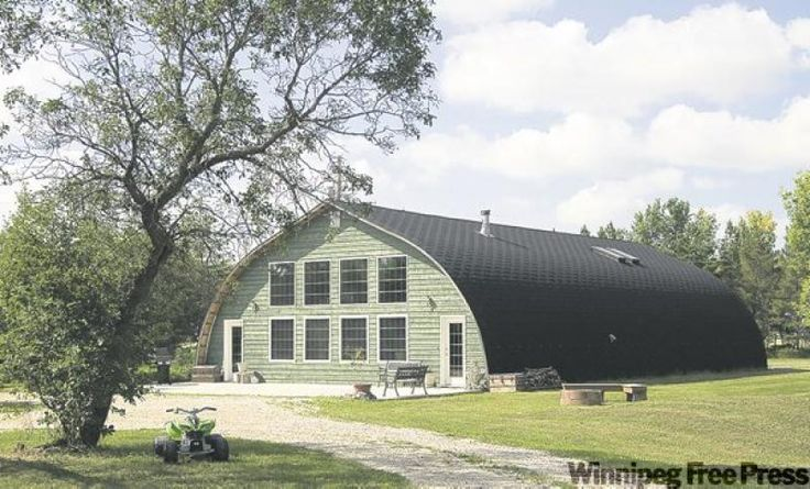 Pin by shariwinkle on q is for qool quonset huts for Quonset hut home designs