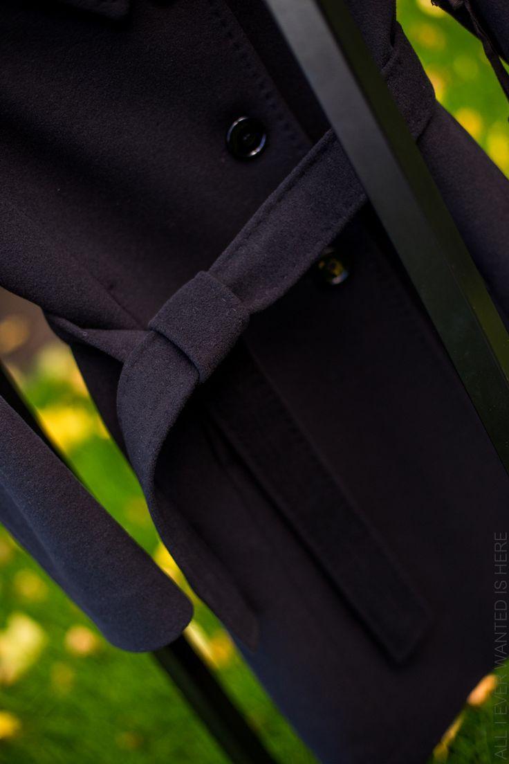 musta villakangastakki arvonta Dixi Coat