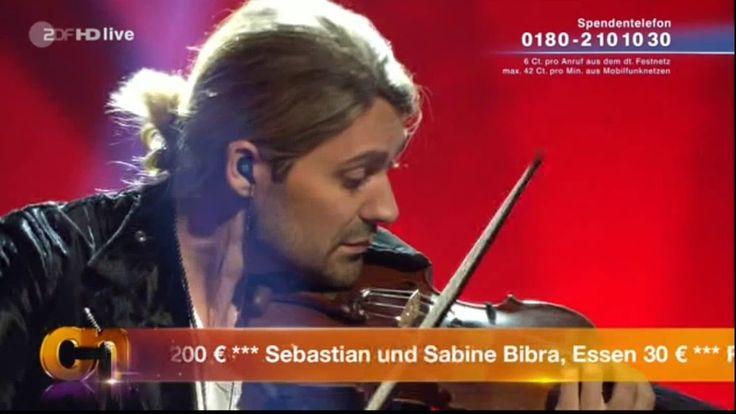 David Garrett - In the air tonight - Willkommen bei Carmen Nebel - 30.09...