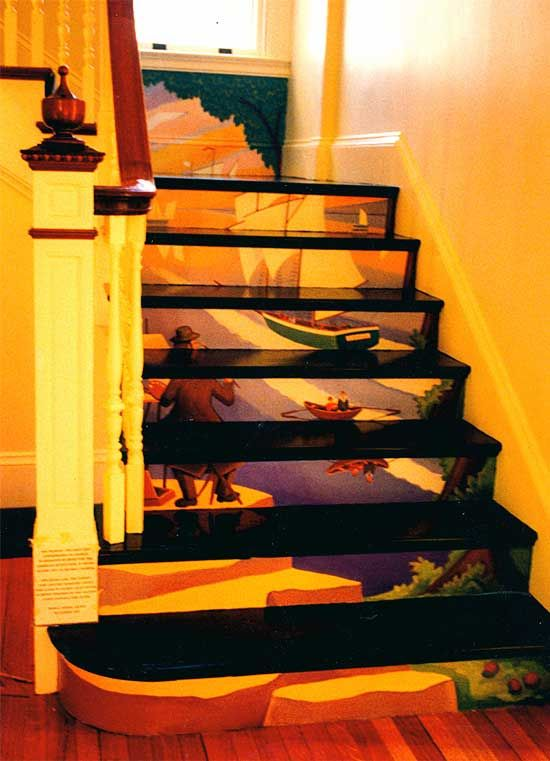 Decorative Stair Risers   Bing Images