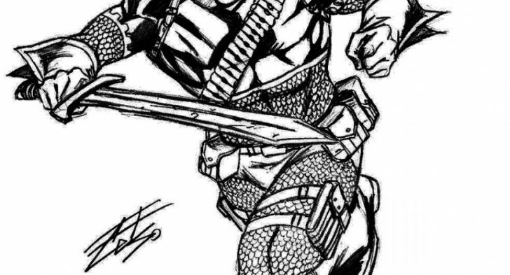 Interesting photograph series of deathstroke coloring pages right just for your little ones