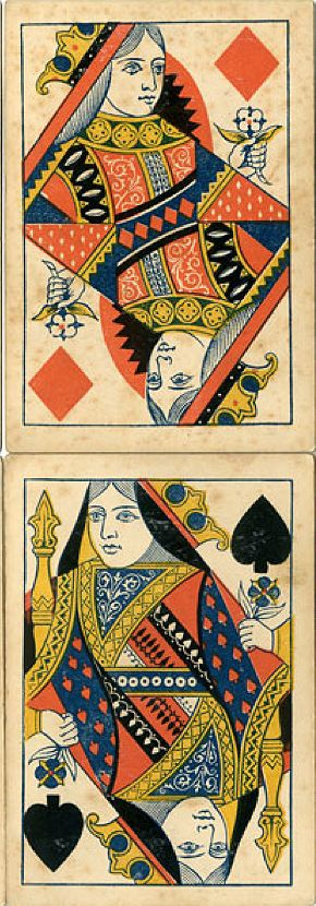 304 best Playing Cards images on Pinterest | Little red, Red riding