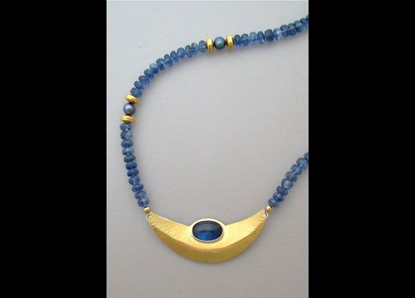 Kyanite Necklace -  Shelley Rae Studio Jewelry