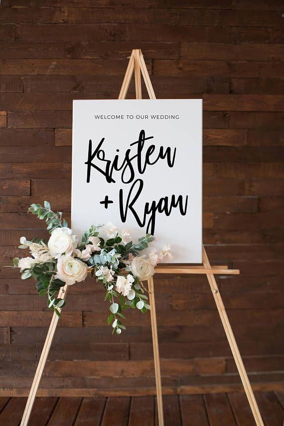 Wedding Welcome Sign Printable Welcome Sign Wedding Sign Wedding Welcome Modern Welc Wedding Welcome Board Wedding Welcome Signs Printable Wedding Sign