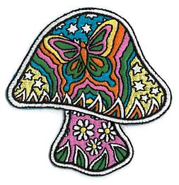 Dan Morris Butterfly Mushroom Patch   Peace and Eco